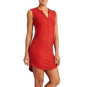 Athleta Red Hayden Sleevless Dress.
